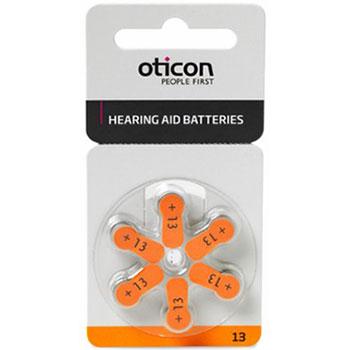 Батарейка для слухового аппарата тип 13 Oticon
